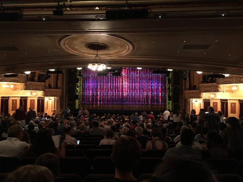 Hippodrome Theatre, section: Center, row: CC, seat: 113
