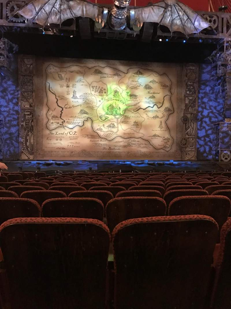 Seating view for Citizens Bank Opera House Section ORCCTR Row K Seat 112