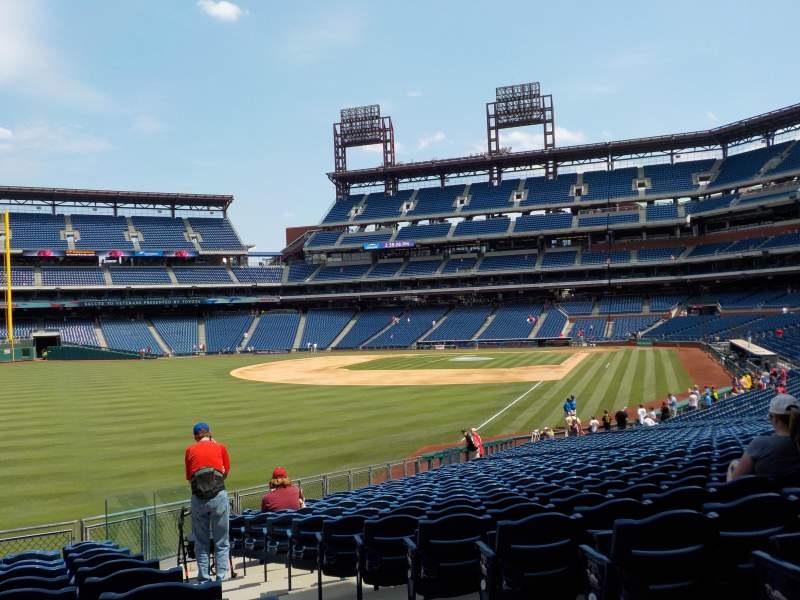 Citizens Bank Park, section: 140, row: 17, seat: 1 and 2