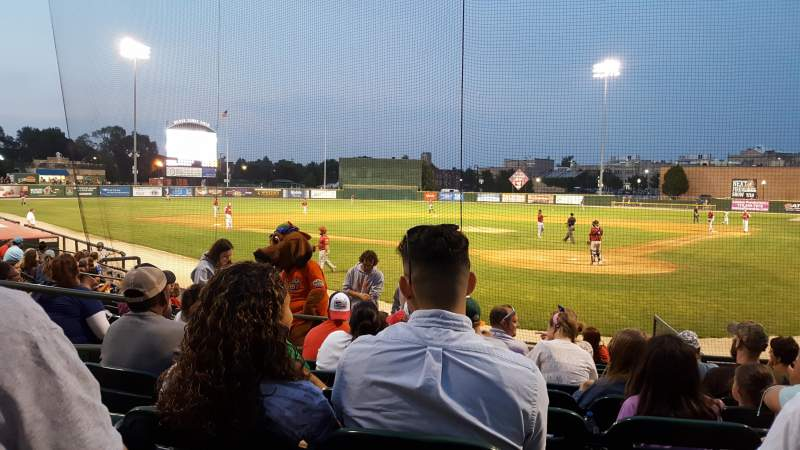 Seating view for Joliet Route 66 Stadium Section 102 Row K Seat 10