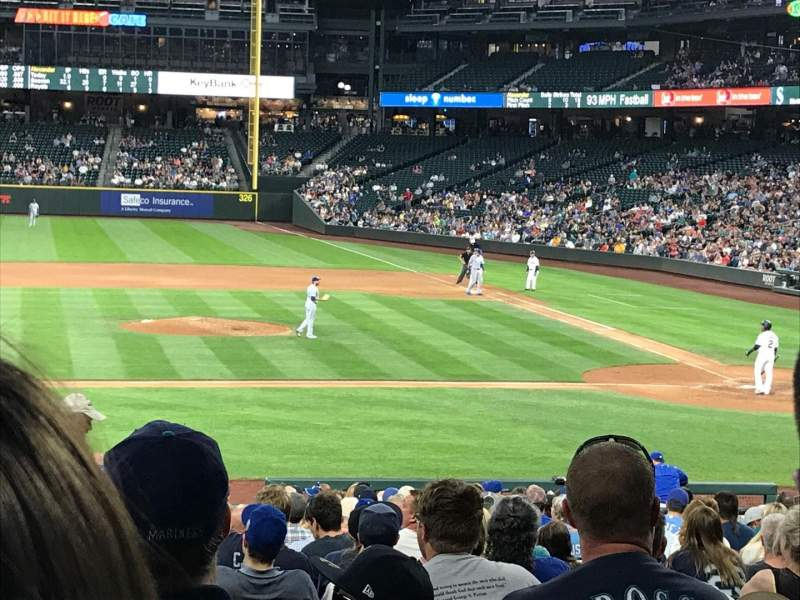 Seating view for T-Mobile Park Section 137 Row 27 Seat 11