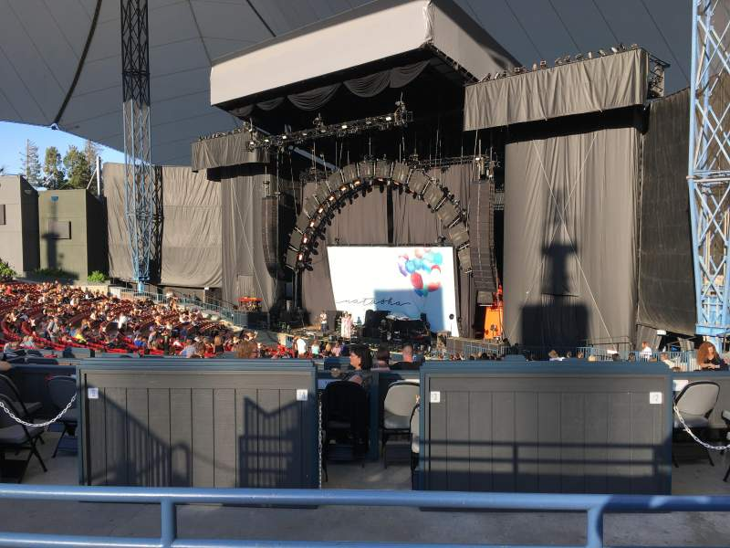 Seating view for Shoreline Amphitheatre Section 200 Row B Seat 21