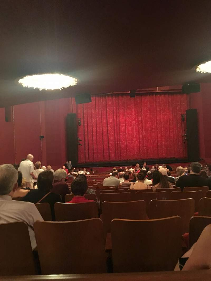 The kennedy center opera house section orchestra row hh for Orchestra house