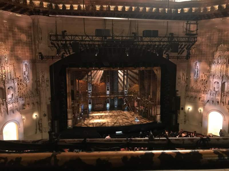 Orpheum Theatre (San Francisco), section: Balcony LC, row: A, seat: 103