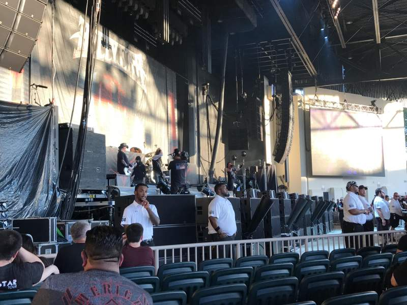 Seating view for Dos Equis Pavilion Section 102 Row N Seat 24