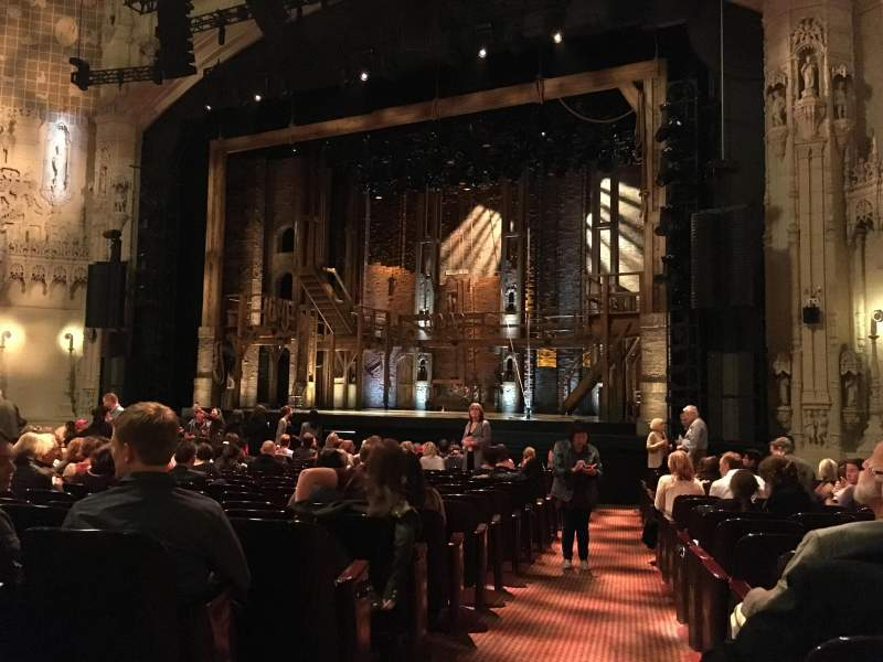 Seating view for Orpheum Theatre (San Francisco) Section Orchestra R Row T Seat 2