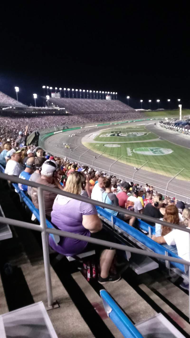 Seating view for Kentucky Speedway Section Ktye Row 32 Seat 7