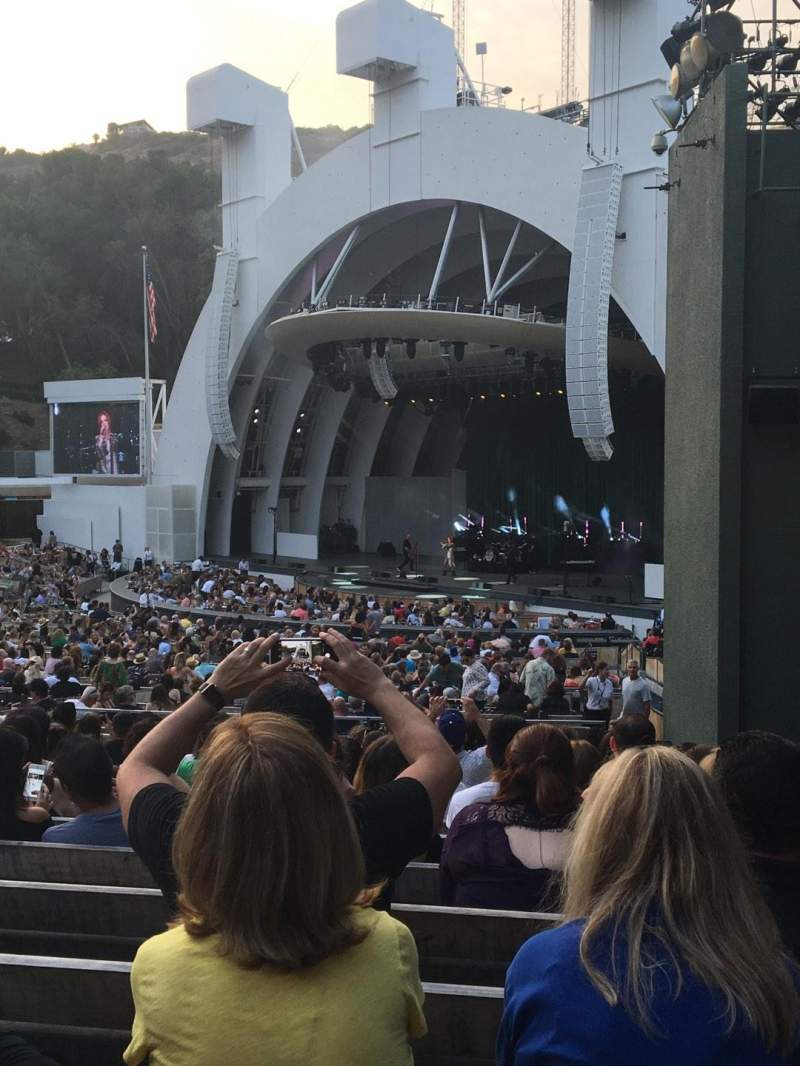 Seating view for Hollywood Bowl Section D Row 13 Seat 44