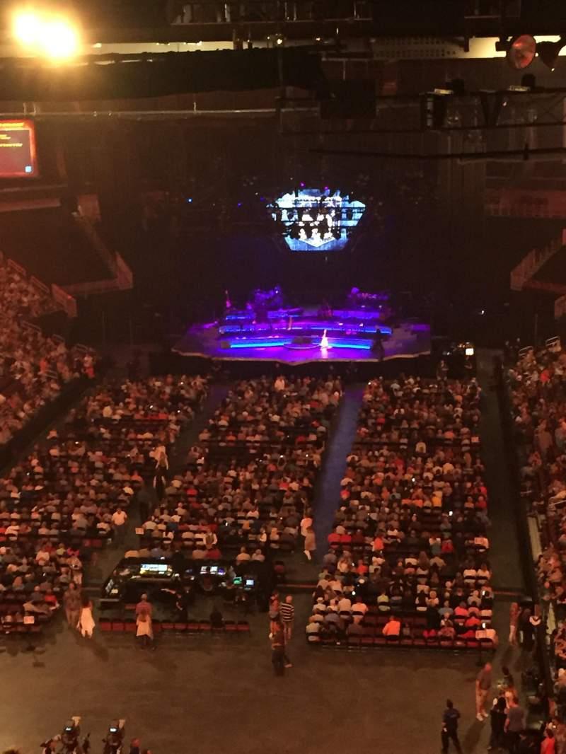 Intrust Bank Arena Section Row S Seat Neil Diamond - Intrust arena seating