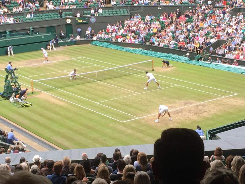 Seating view for Wimbledon, Centre Court Section 302 Row T Seat 041