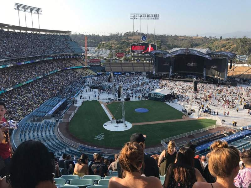 Seating view for Dodger Stadium Section 6rs Row N Seat 4