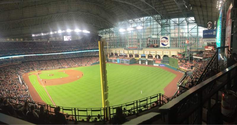 Seating view for Minute Maid Park Section 436 Row 1 Seat 11
