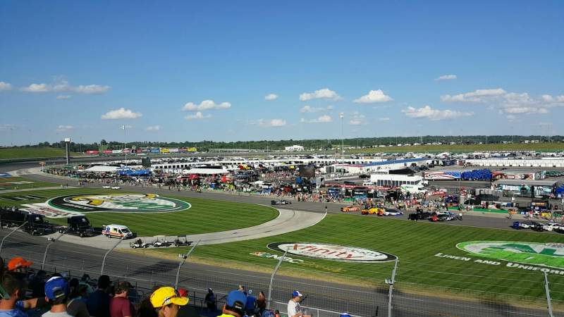 Seating view for Kentucky Speedway Section 3C Row 20 Seat 22