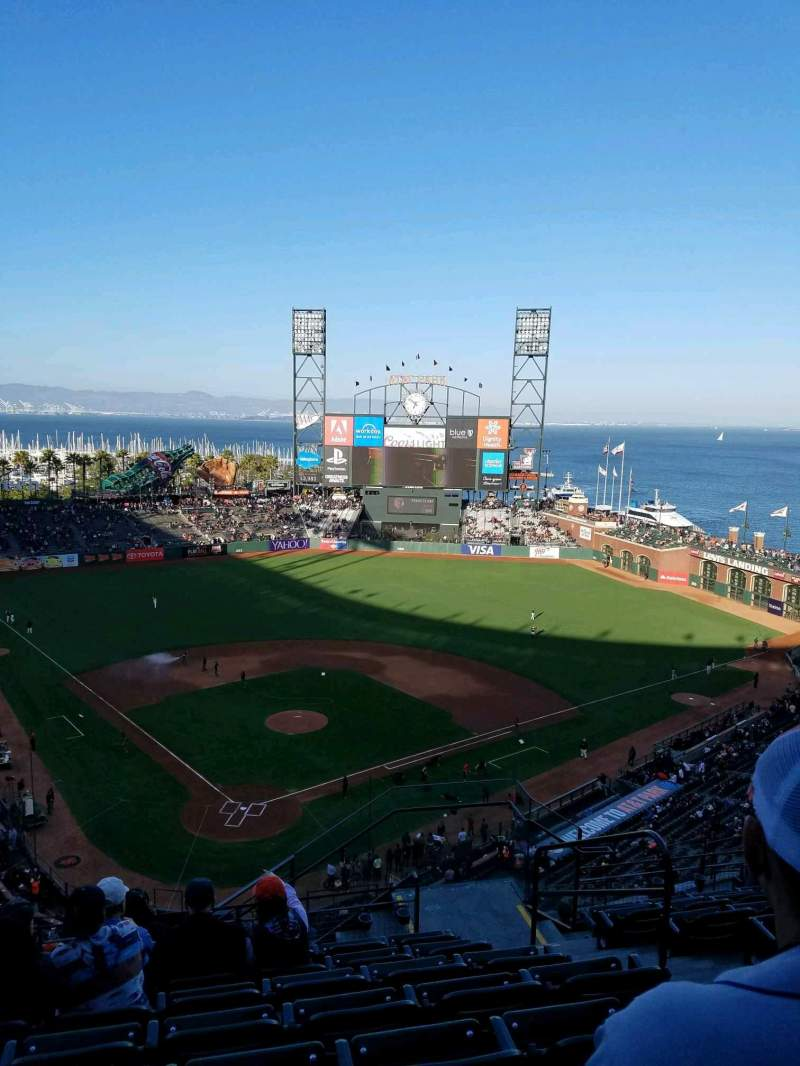 AT&T Park, section: 314, row: 8, seat: 4