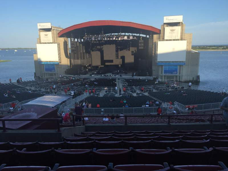 Seating view for Jones Beach Theater Section 6R Row HH Seat 11
