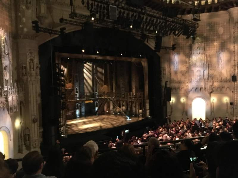 Seating view for Orpheum Theatre (San Francisco) Section Mezzanine L Row E Seat 25