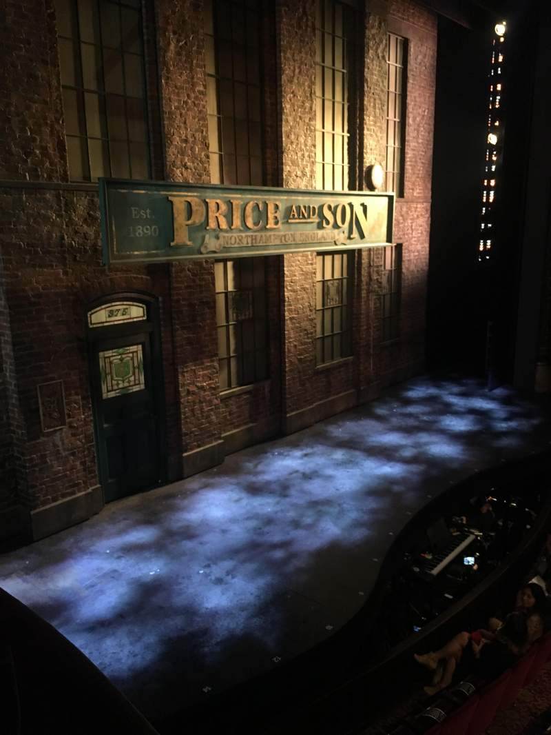 Seating view for Al Hirschfeld Theatre Section Left Box Row C Seat 6