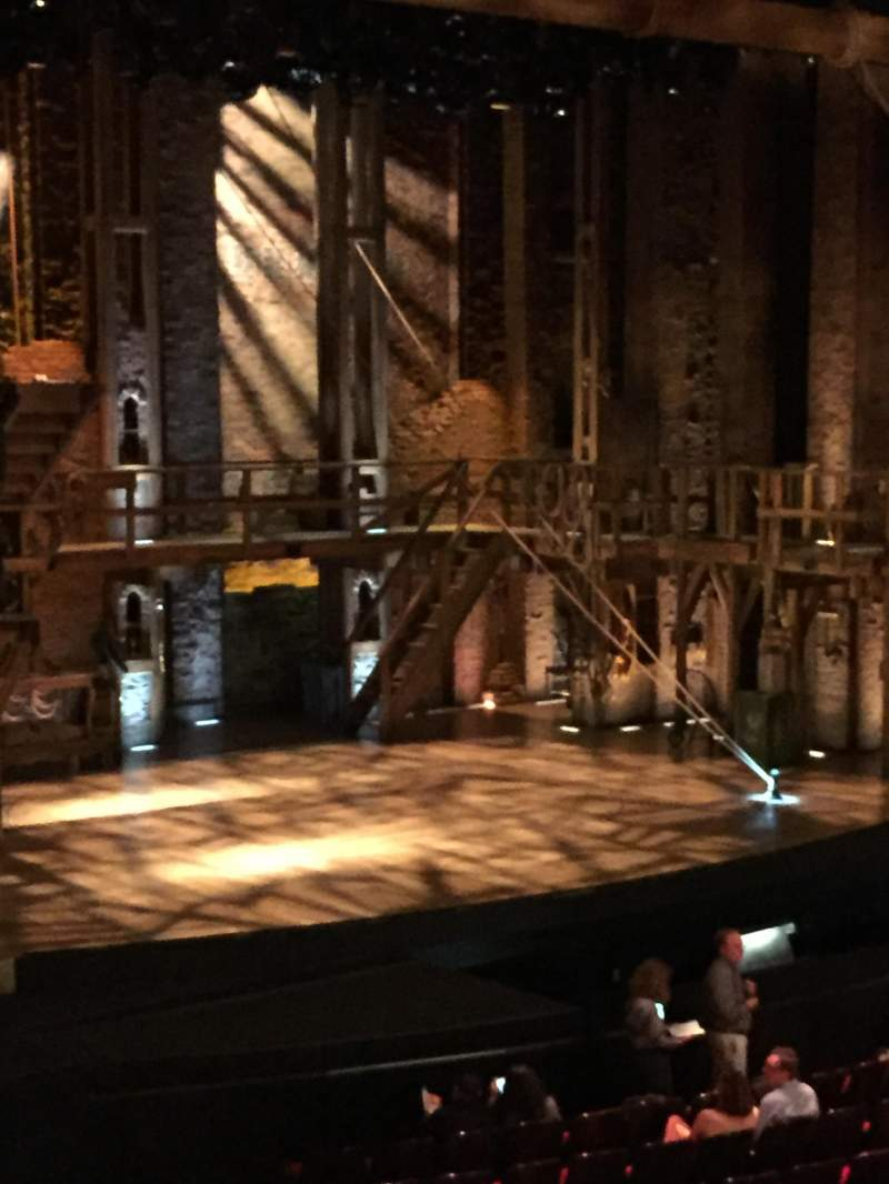 Seating view for Orpheum Theatre (San Francisco) Section Loge L Row A Seat 21