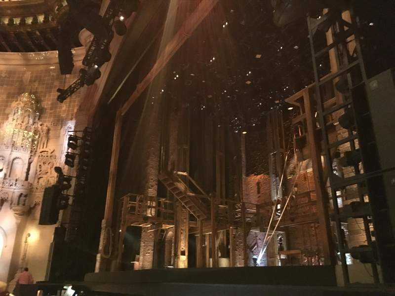 Orpheum Theatre (San Francisco), section: Orchestra R, row: D, seat: 10