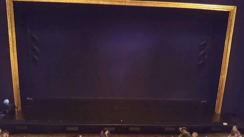 Ambassador Theatre, section: fmezzc, row: a, seat: 101