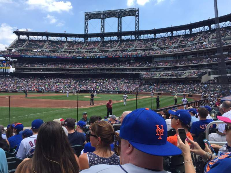 Seating view for Citi Field Section 126 Row 7 Seat 5