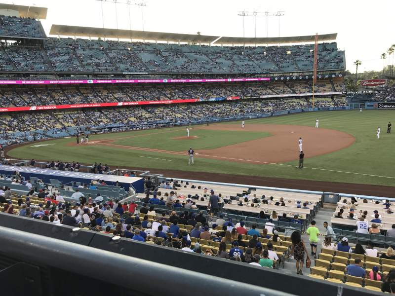 Dodger Stadium, section: 146LG, row: A, seat: 1