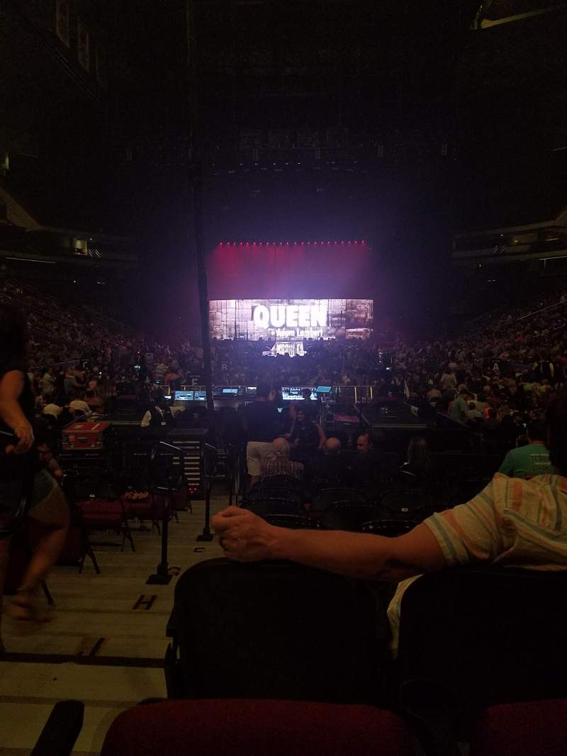 Seating view for Prudential Center Section 3 Row 3 Seat 10