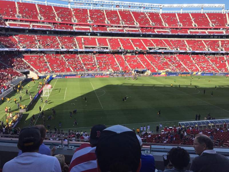 Seating view for Levi's Stadium Section 243 Row 4 Seat 7