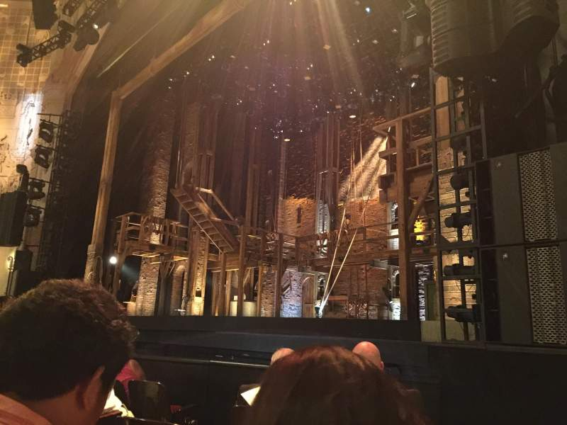 Seating view for Orpheum Theatre (San Francisco) Section Orchestra R Row F Seat 10-12