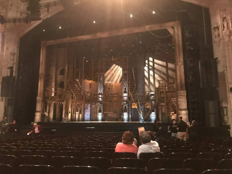 Orpheum Theatre (San Francisco), section: Orchestra R, row: P, seat: 122