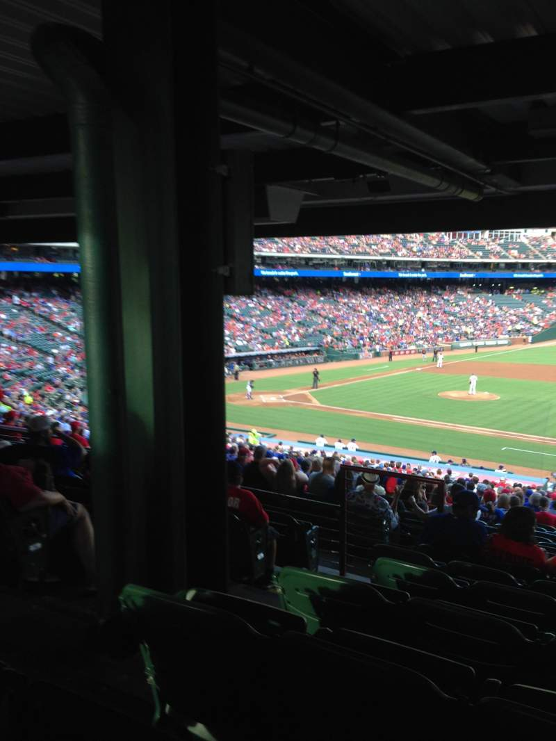 Globe Life Park in Arlington, section: 135, row: 39, seat: 5