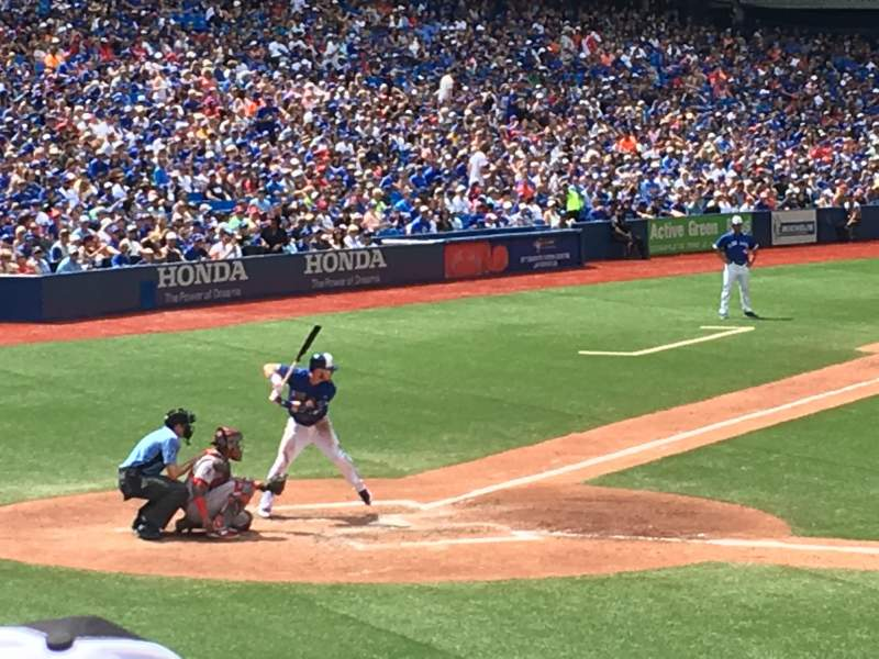 Rogers Centre, section: 117L, row: 19, seat: 108
