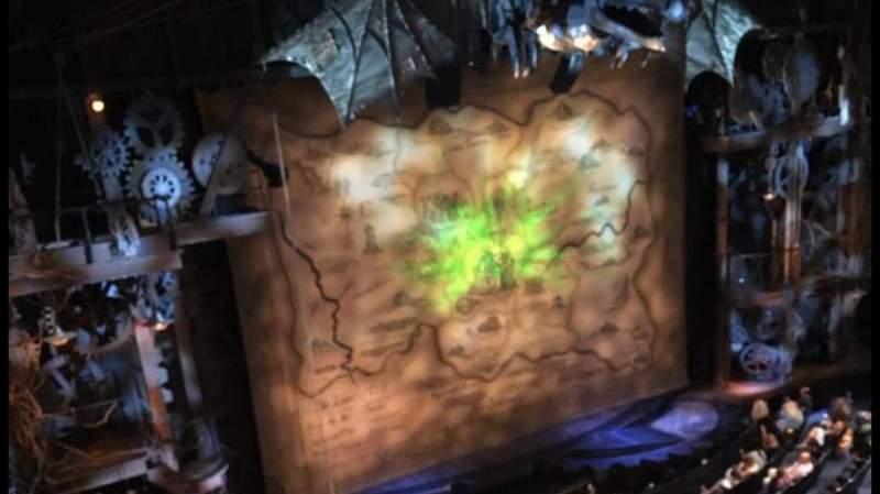 Gershwin Theatre, section: Front Mezzanine L, row: EE, seat: 1
