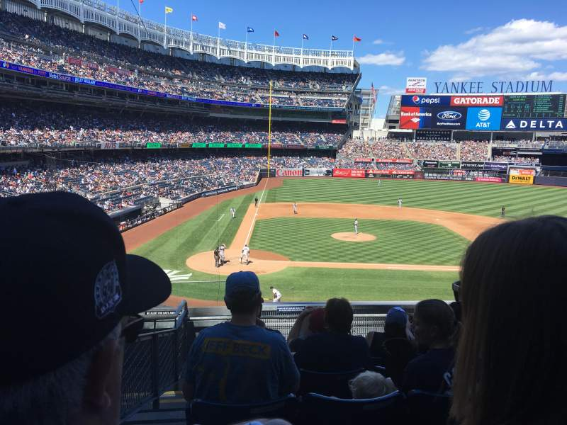 Seating view for Yankee Stadium Section 217 Row 7 Seat 15