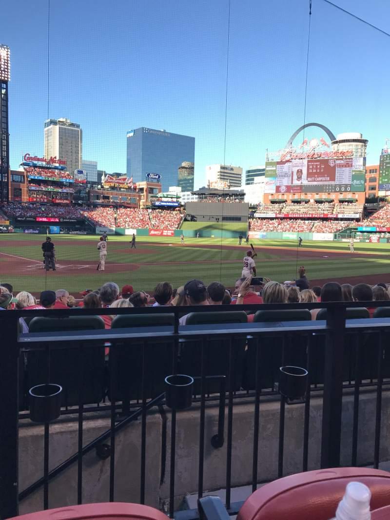 Busch Stadium, section: 148, row: 2, seat: 1
