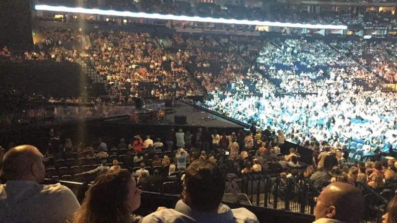 Seating view for Bridgestone Arena Section 113 Row C Seat 5