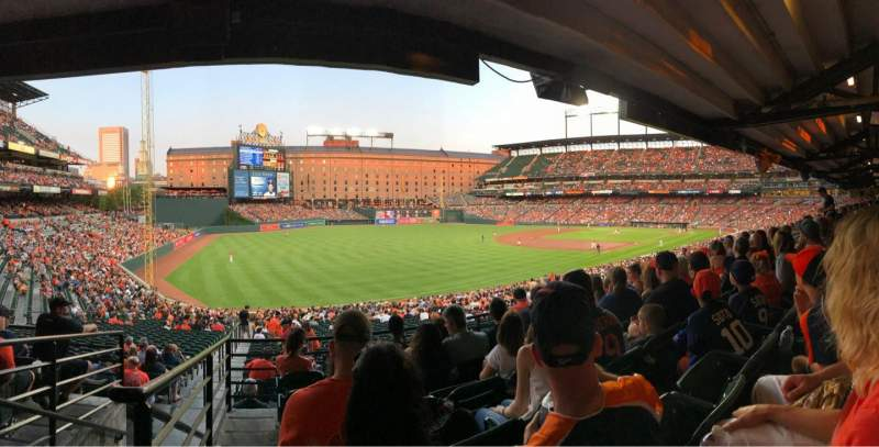 Seating view for Oriole Park at Camden Yards Section 67 Row 6 Seat 24