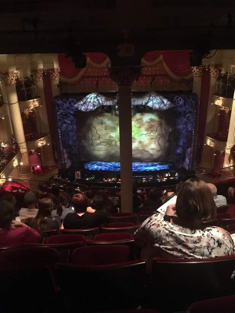 Seating view for Academy of Music Section Family Circle E Row H Seat 104