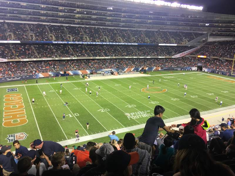 Seating view for Soldier Field Section 342 Row 15 Seat 7
