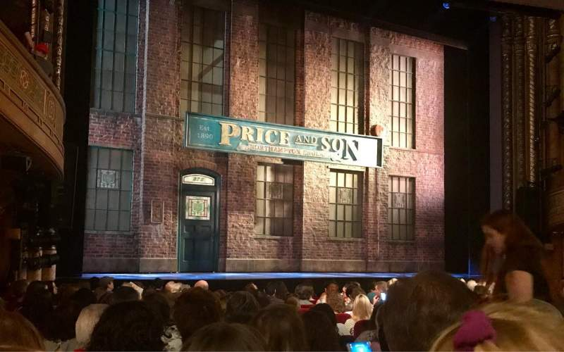 Seating view for Al Hirschfeld Theatre Section Orchestra R Row P Seat 13
