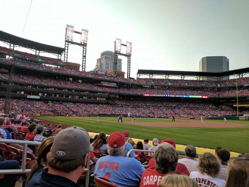 Busch Stadium, section: 138D, row: H, seat: 4