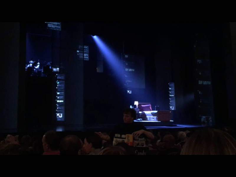 Seating view for Music Box Theatre Section Left Orchestra Row L Seat 5