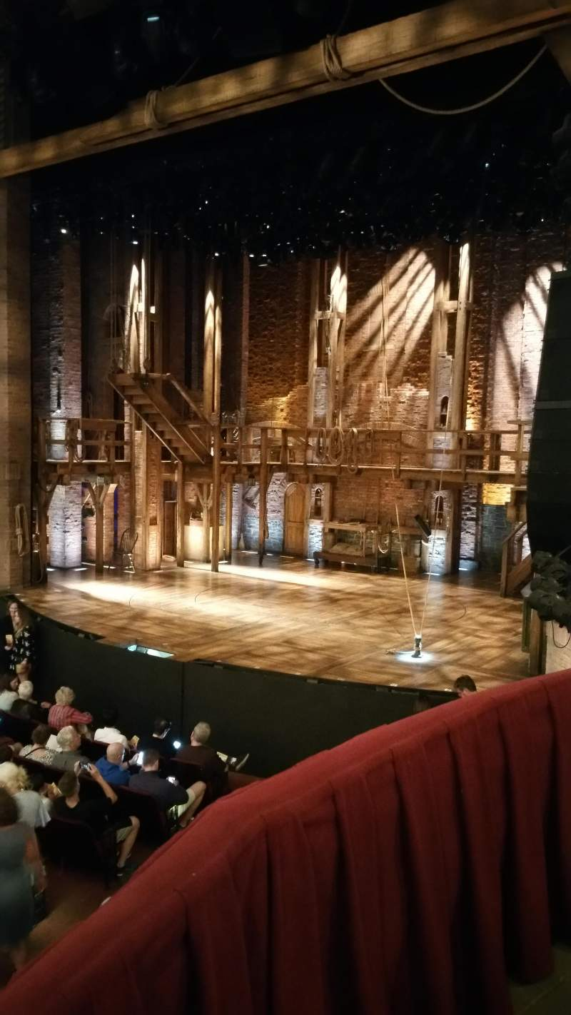 Seating view for CIBC Theatre Section Dress Circle Box 2 Row 2 Seat 206