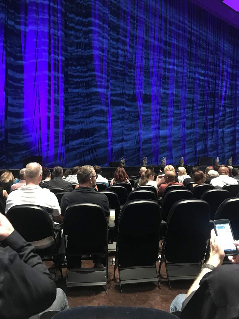 Park Theater at Park MGM, section: 205, row: A, seat: 8
