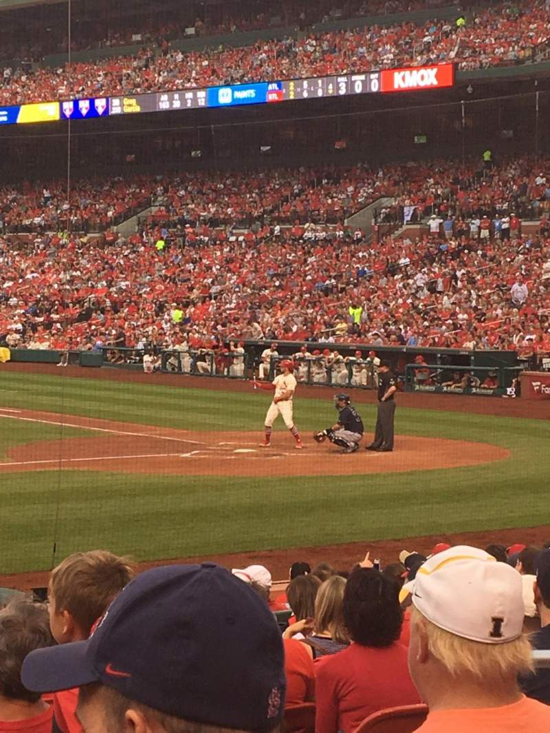 Seating view for Busch Stadium Section 156 Row 5 Seat 5