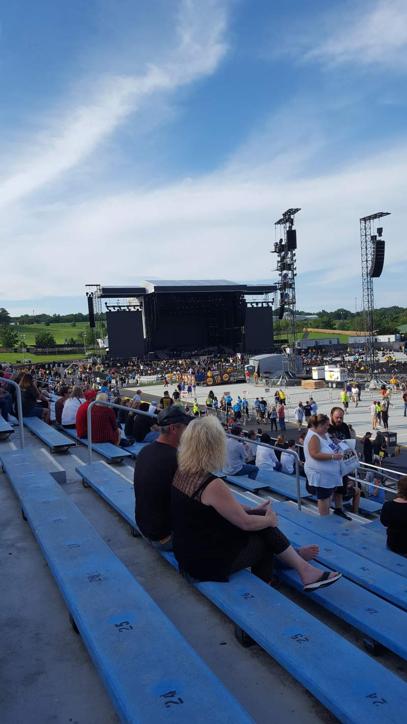 Seating view for Hershey Park Stadium Section 4 Row G Seat 20