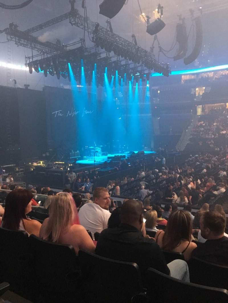 Seating view for Amalie Arena Section 117 Row N Seat 8