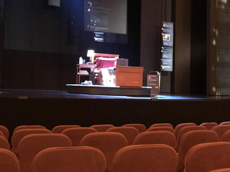 Seating view for Music Box Theatre Section Orchestra C Row G Seat 112