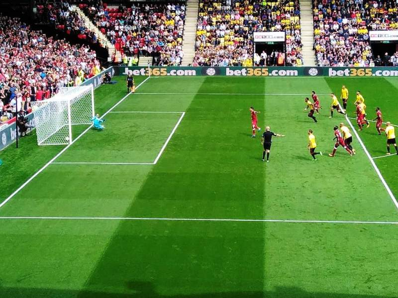 Seating view for Vicarage Road Section UGT - Upper Graham Taylor Row W Seat 31