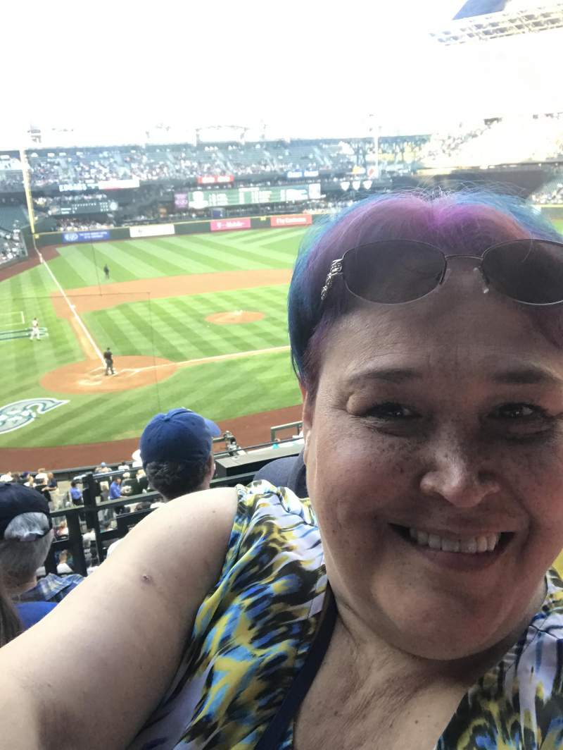 Seating view for T-Mobile Park Section 227 Row 3 Seat 8